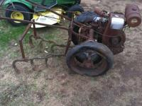 I have a walk behind tractor. Unsure of the make. It