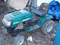 i have a lawn tractor for sale i am asking 350.00 or
