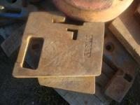 Front tractor weights, AC-Hesston, Kubota,