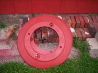 Two pair tractor wheel weights. Very solid, good