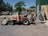 small tractor with backhoe/loader runs good. $7000.00