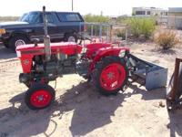 tractor runs great 2 cylinder diesel with gannon and