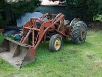 TRACTOR LOADER off Ford 600 will fit 600 , 700 , 800 ,