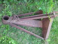 Blade mount for tractor (no blade). $40 firm  // //]]>