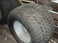 4 turf tires for compact tractor. Rear LSW610R47.0
