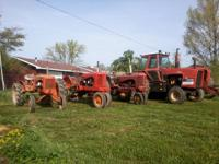 1938 AC B $1,100 1950 AC WD 3 point hitch $1750 1952