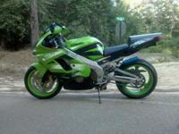 Description Make: Kawasaki Model: ZX-9R Mileage: 17,000
