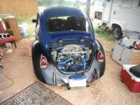 I have a 70 vw bug she has a custom front end and brand