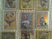 This collection includes rookie cards of peyton