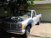 1990 gmc pick up 2 wheel drive older restore house of