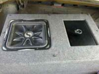 A 15 inch kicker L7 solobaric 2500 watts in a ported