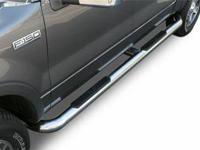 ".  Putco 4"" Stainless Steel. EMPLOYER Nerf Bars"