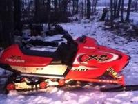 I'd like to trade my 2002 Polaris xcsp edge 700 with