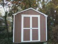 I would like to trade a very nice backyard shed (8X8)