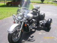 2002Suzuki Intruder Volusia 805 cc with Insta trike kit