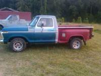 I am wanting to trade an 80's model ford stepside bed