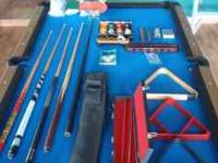 I have for sale or trade a Olhausen pool table with