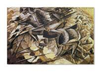 Umberto Boccioni (19 October 1882 - 17 August 1916) was