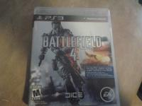I have an excellent condition Battlefield 4 PS3 that I