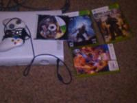 Trading a white xbox 360 for a ps3 80GB comes with all