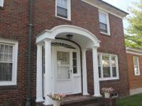 Solidly built 1920's brick colonial in one of