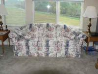 This couch is in EXCELLENT condition. No stains, tears,