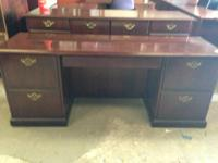 1st & 2nd picture (traditional credenza) $375 3rd