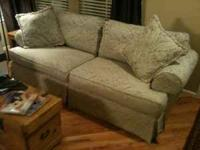 This couch was in our living room and rarely used. It