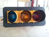 Traffic light, still works. I got it for decoration,