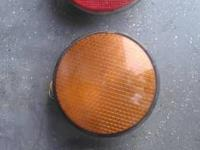 Selling these 3 traffic signal lights in red LED,