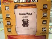 Stealth Cam trail video camera STC-U840IR.  Captures