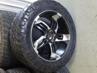 "Trail Grappler M/T, 5 bolt, 22"" diameter, Tread depth:"