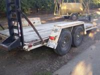in excellent condition, heavy duty, comes with ramps,