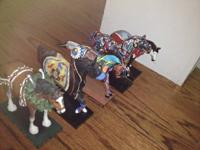 Trail of Painted Ponies Statues 5 Different