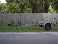 Boat trailer -  single axle - heavy duty.