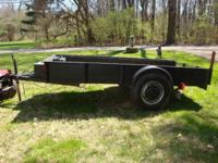 "Trailer - 10' x 5' with 15"" tires in great condition.1"
