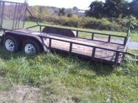 TRAILER 16' OR LANDSCAPE CALL  $1.100.00 Location: