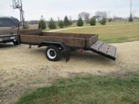 Bob Tail Trailer 14'x6' (11'x6' inside box) Everything