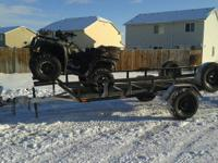 Trailer for sale that can be used for ATVs, UTVs, Dirt