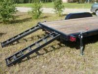 New Bulldog 18' 10K trailer. Unit is equipped with: