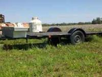 This is a home made trailer it is 5x14 roughley. It has
