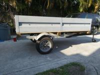 Selling my trailer is a 4' x 8' just recently coated