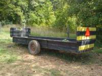 Interesting trailer, bought it in a package deal and I