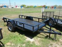 Brand name New 5 x 8 Single Axle Energy Trailer.