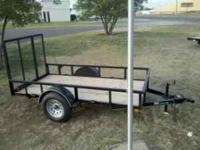 "MC trailers all sizes available. In stock 20'x83"" car"