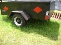 selling my 5x8 trailer dont use no more $595 CALL