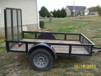 5x8 trailer 600 cash firm  Location: cleveland tn