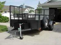THIS IS CUSTOM BUILT TRAILER WITH MANY USES IN MIND.