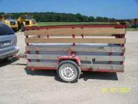 trailer is 6ft.X9ft. $750.00 cash only or O.B.O. call