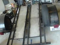 Single motorcycle or ATV trailer with newer 175-13